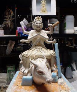 仏像作りました。